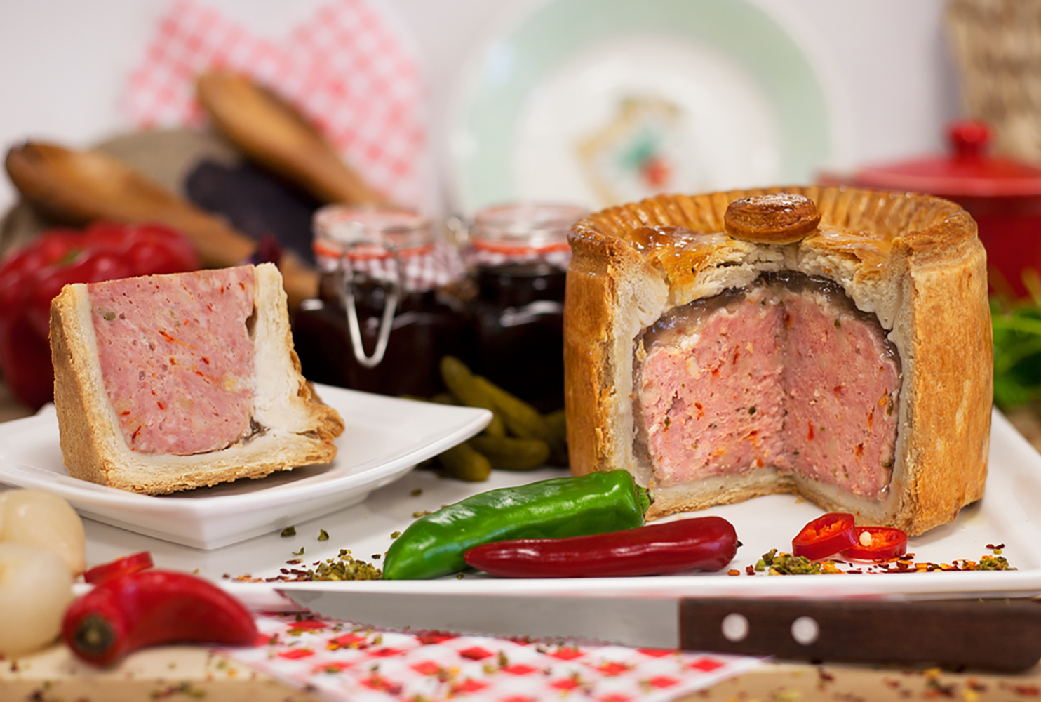 CHAMPION CHILLI PORK PIE MIX