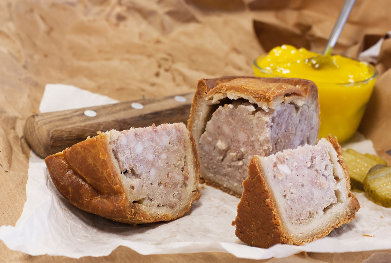 DALESMAN GRAND PORK PIE MIX NO CURE