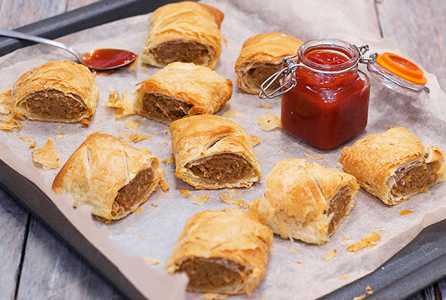 DALESMAN VEGAN SAUSAGE ROLL MIX