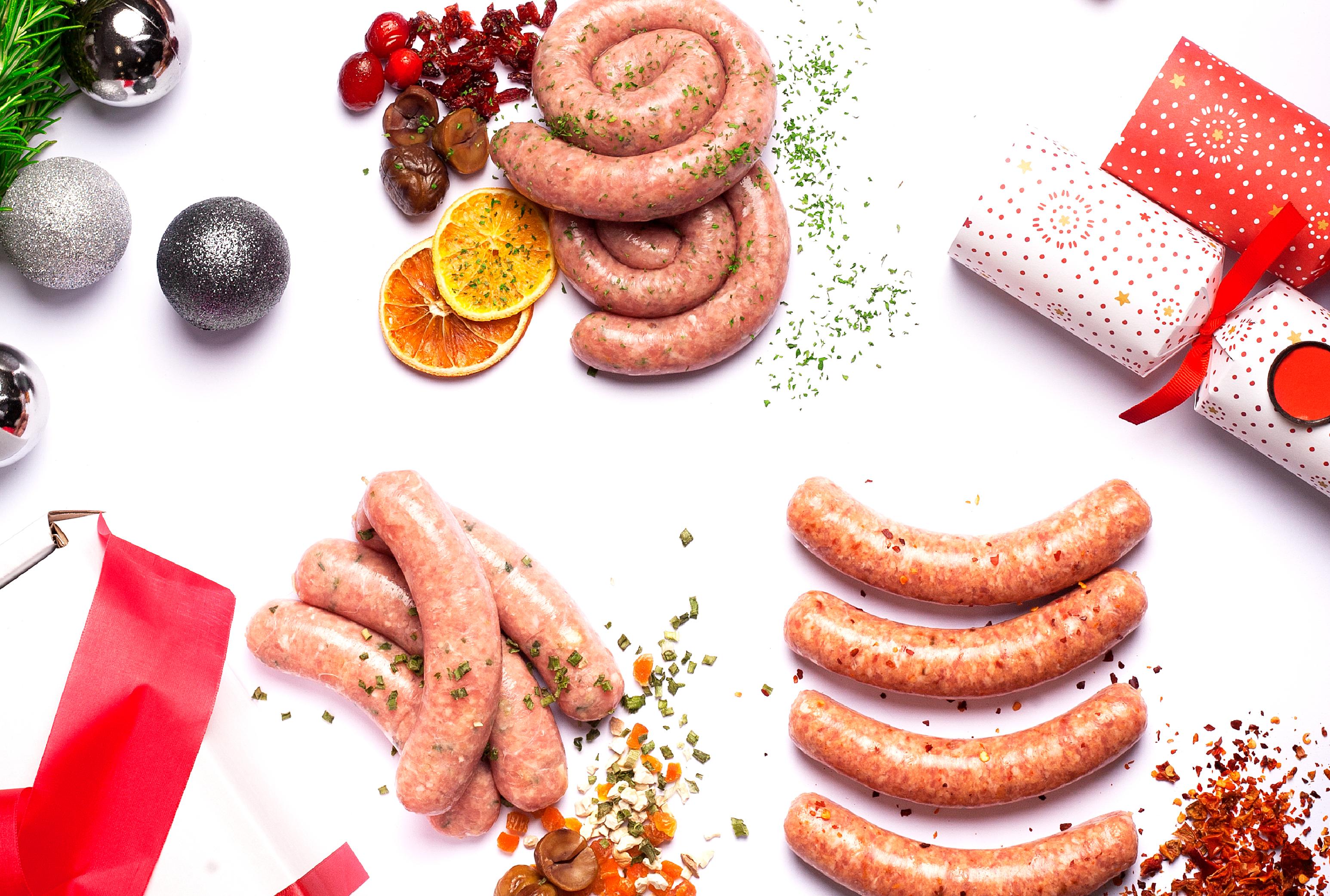 Christmas Sausage Flavours