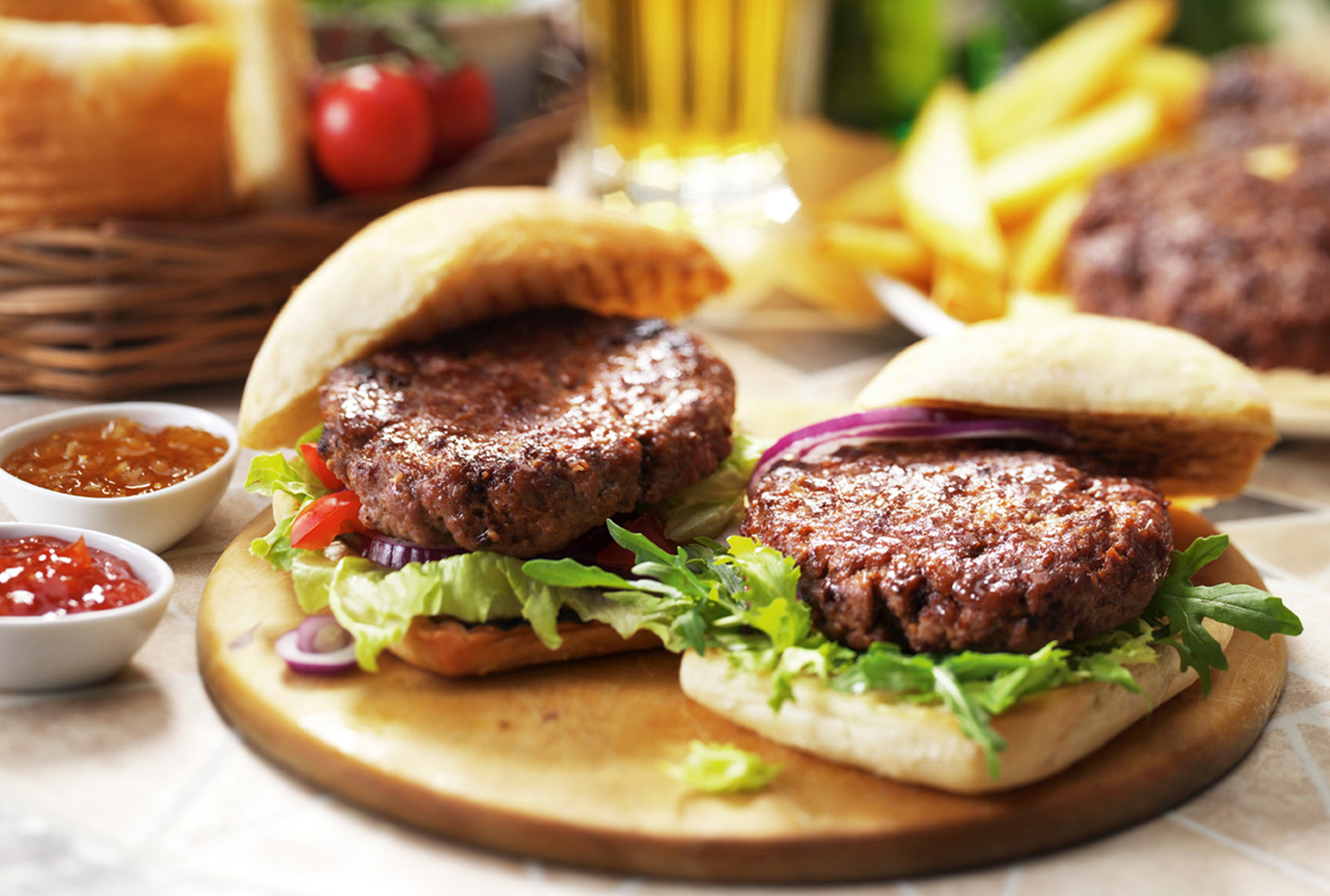 DALESMAN CHARGRILL FLAVOURED BURGER MIX