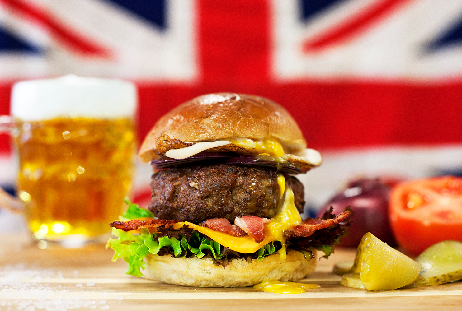 GOURMET GREAT BRITISH BURGER MIX