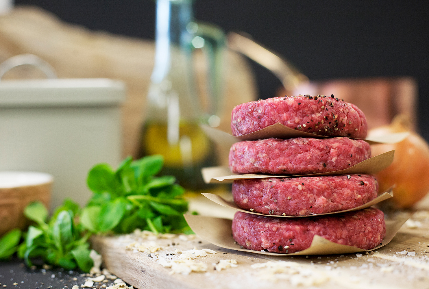 GOURMET GLUTEN FREE SALT & PEPPER BURGER MIX