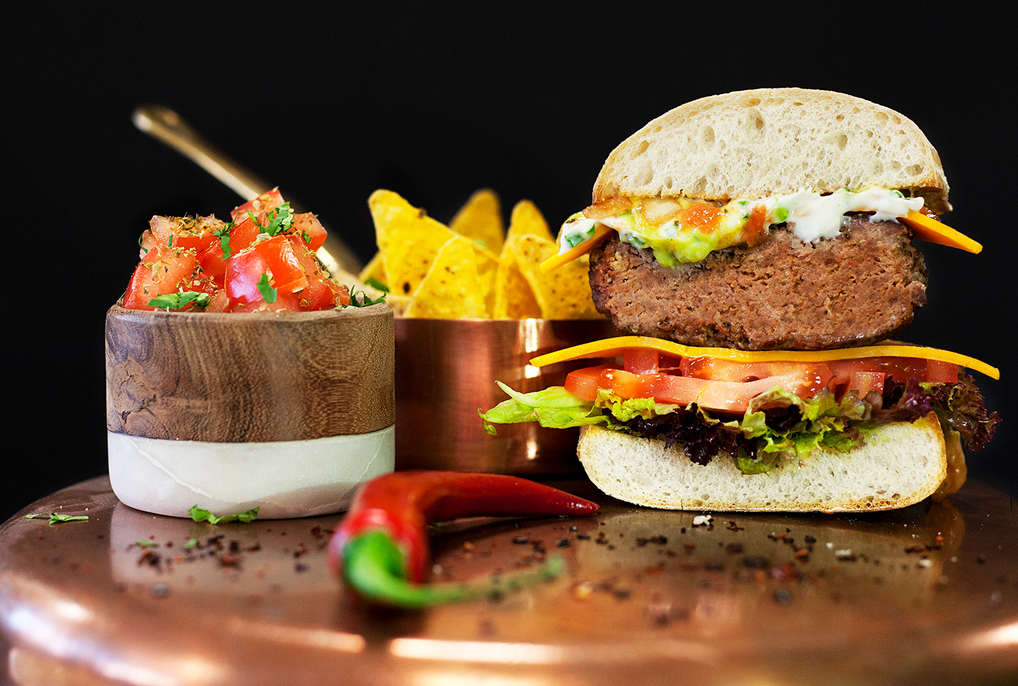 GOURMET MOROCCAN BURGER MIX