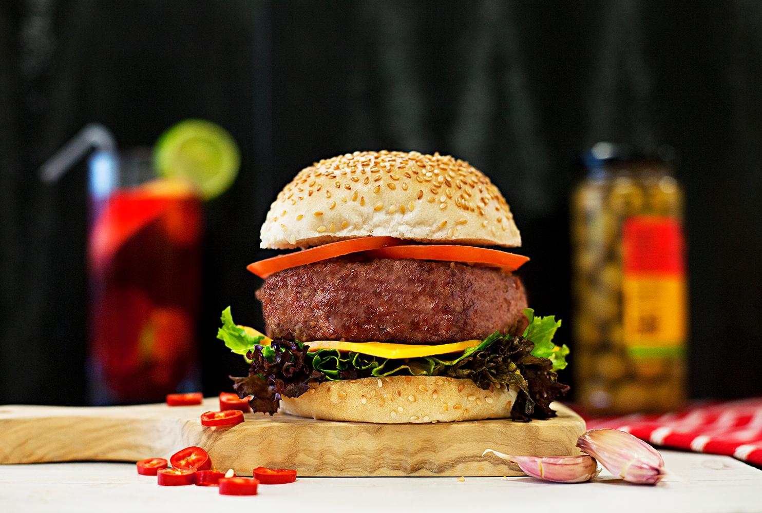 GOURMET SPANISH BURGER MIX
