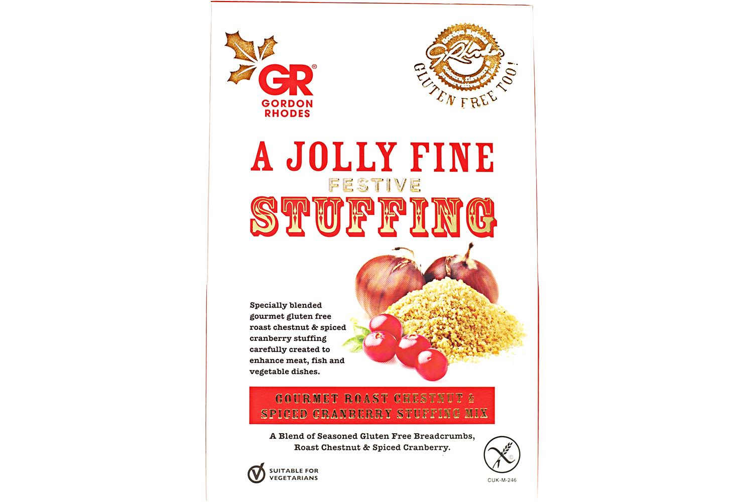 GR GLUTEN FREE ROAST CHESTNUT & SPICED CRANBERRY STUFFING MIX