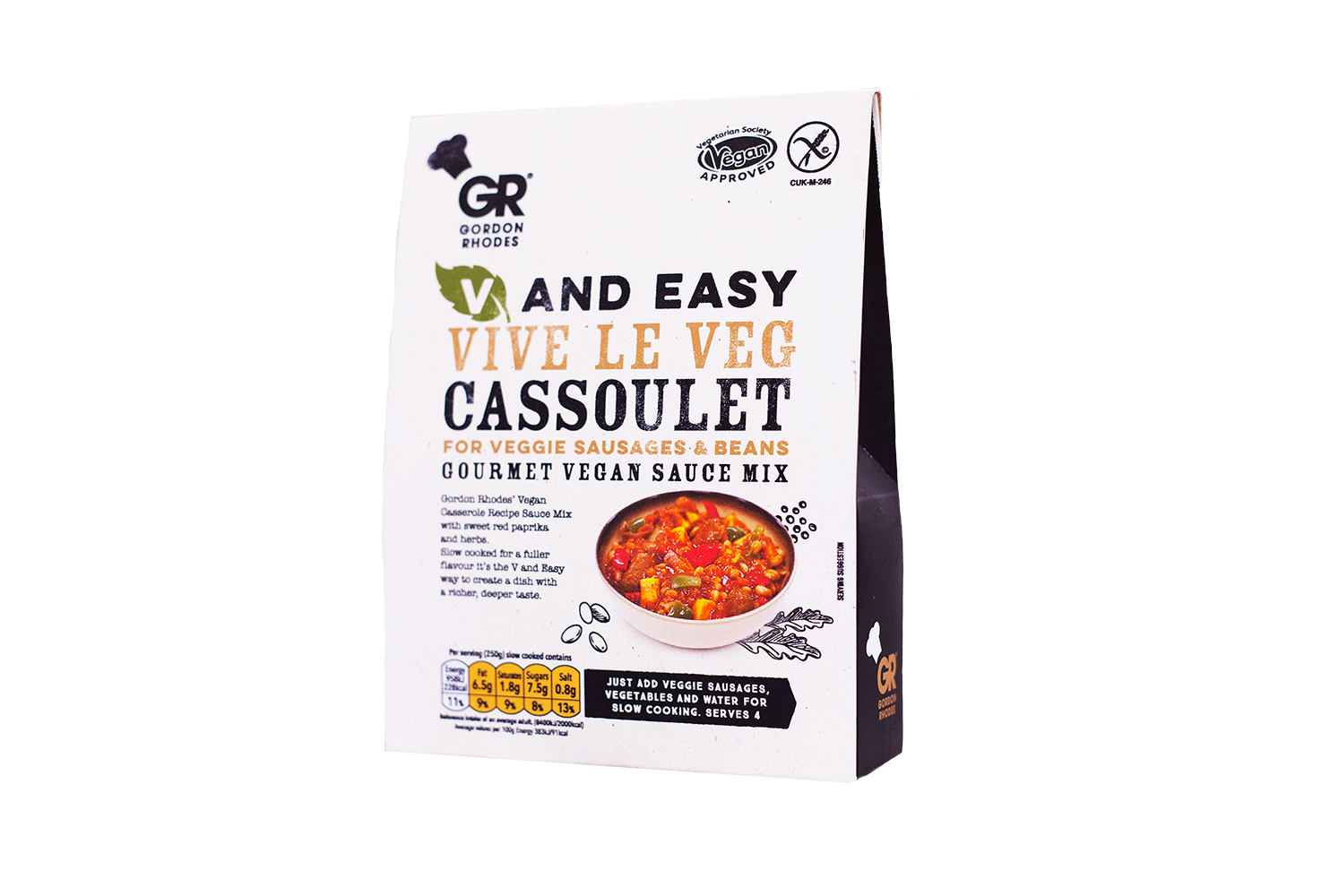 GR V & EASY VEG CASSOULET SAUCE MIX SRP