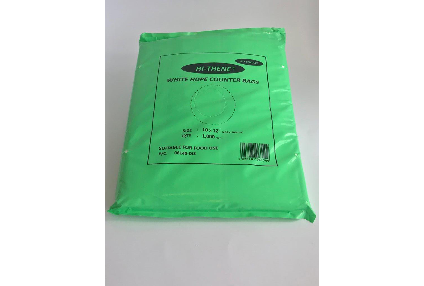 HD COUNTER BAGS 300x375mm 8 MICRONS