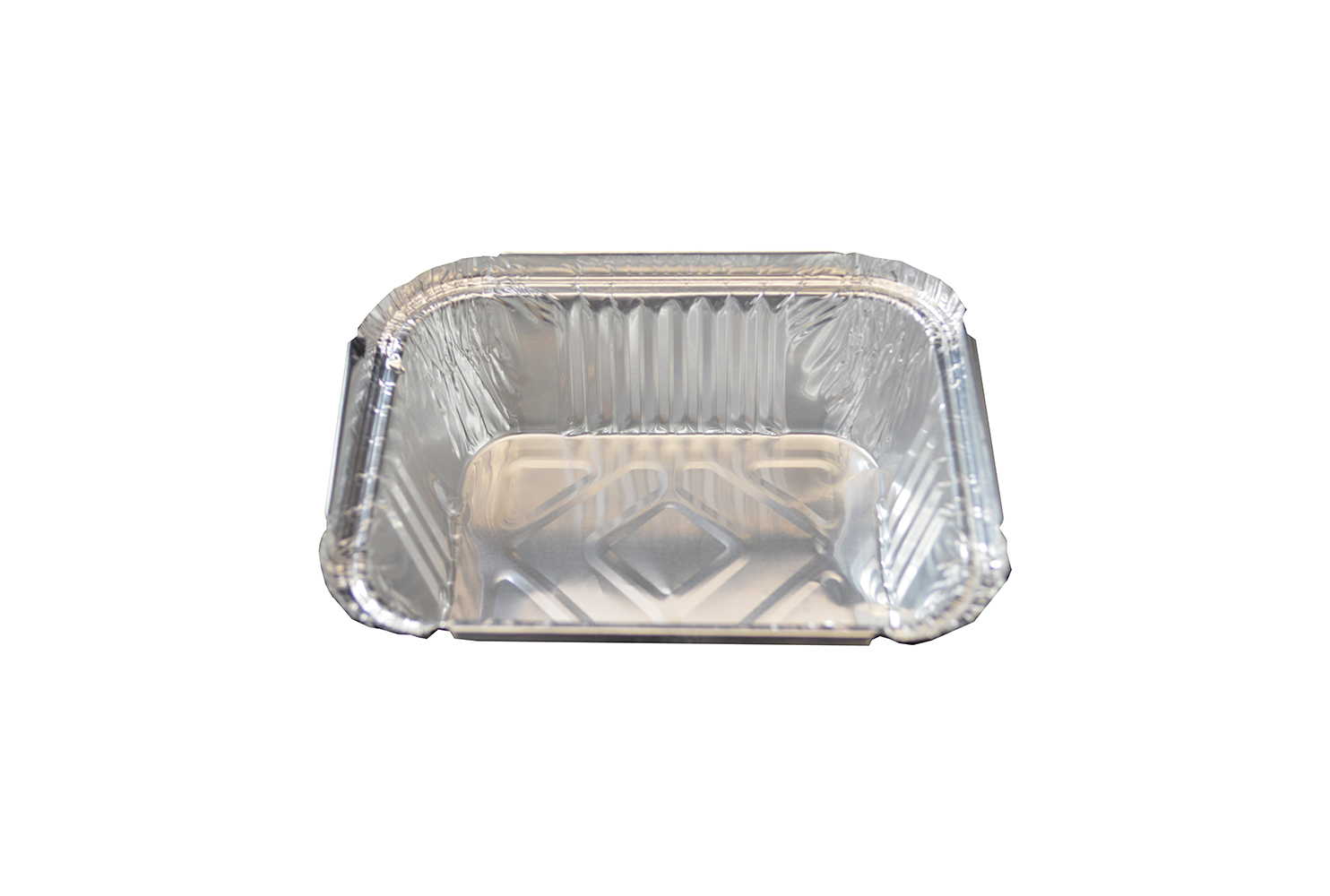 TAKE AWAY FOIL CONTAINERS (NO2) SQUARE