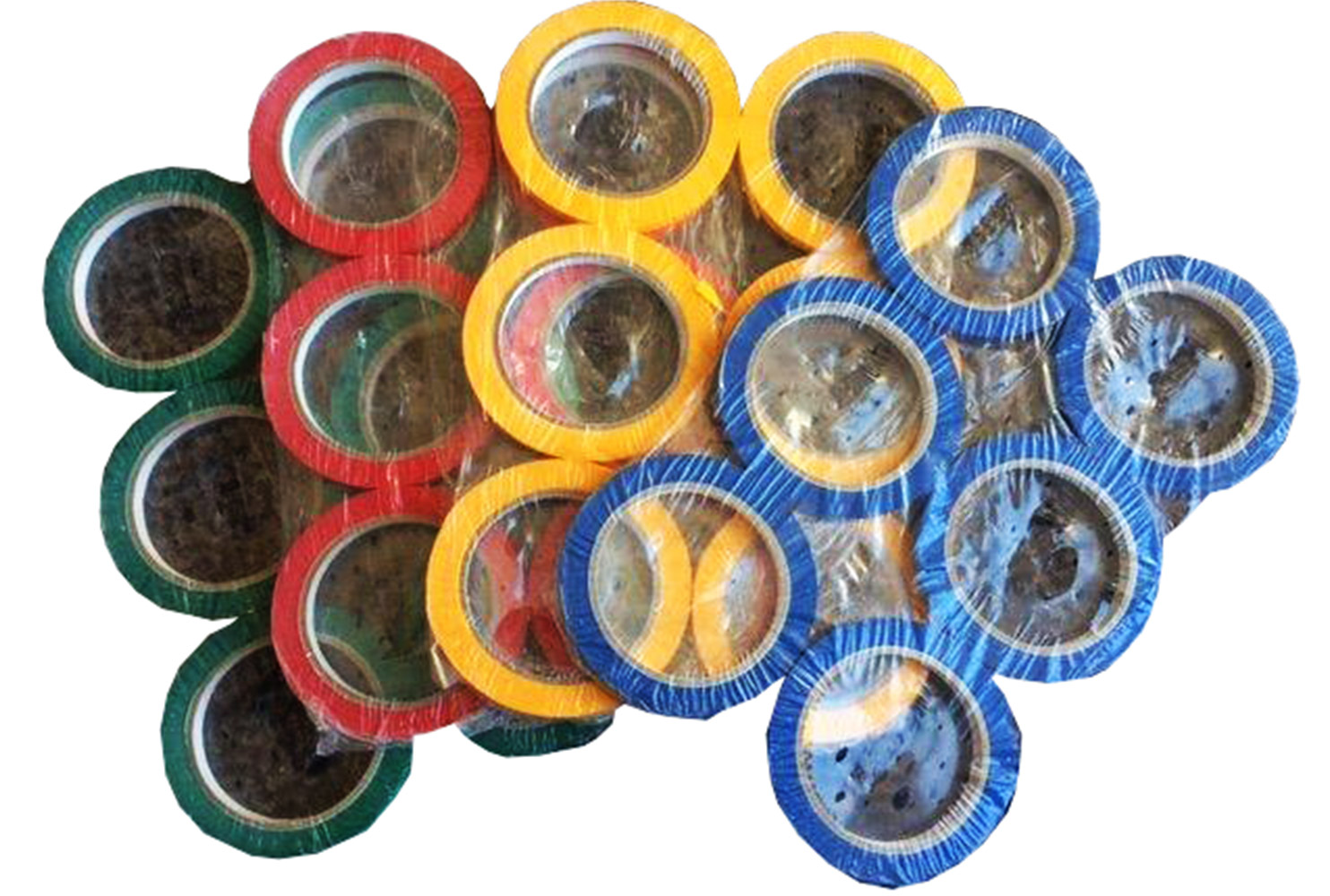 BAG SEALING TAPES 9MM COLOURED
