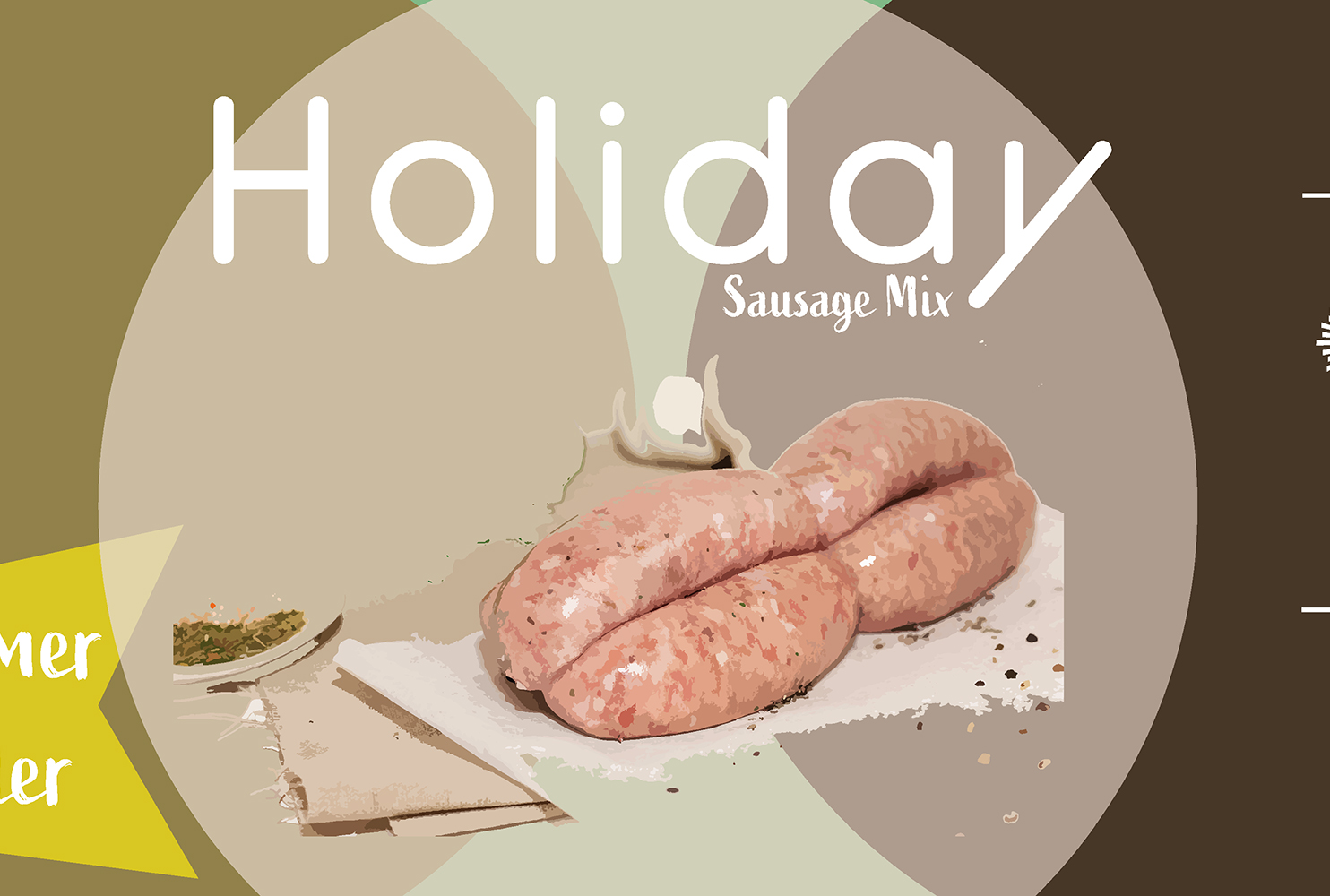 COUNTRY FAYRE HOLIDAY SAUSAGE MIX