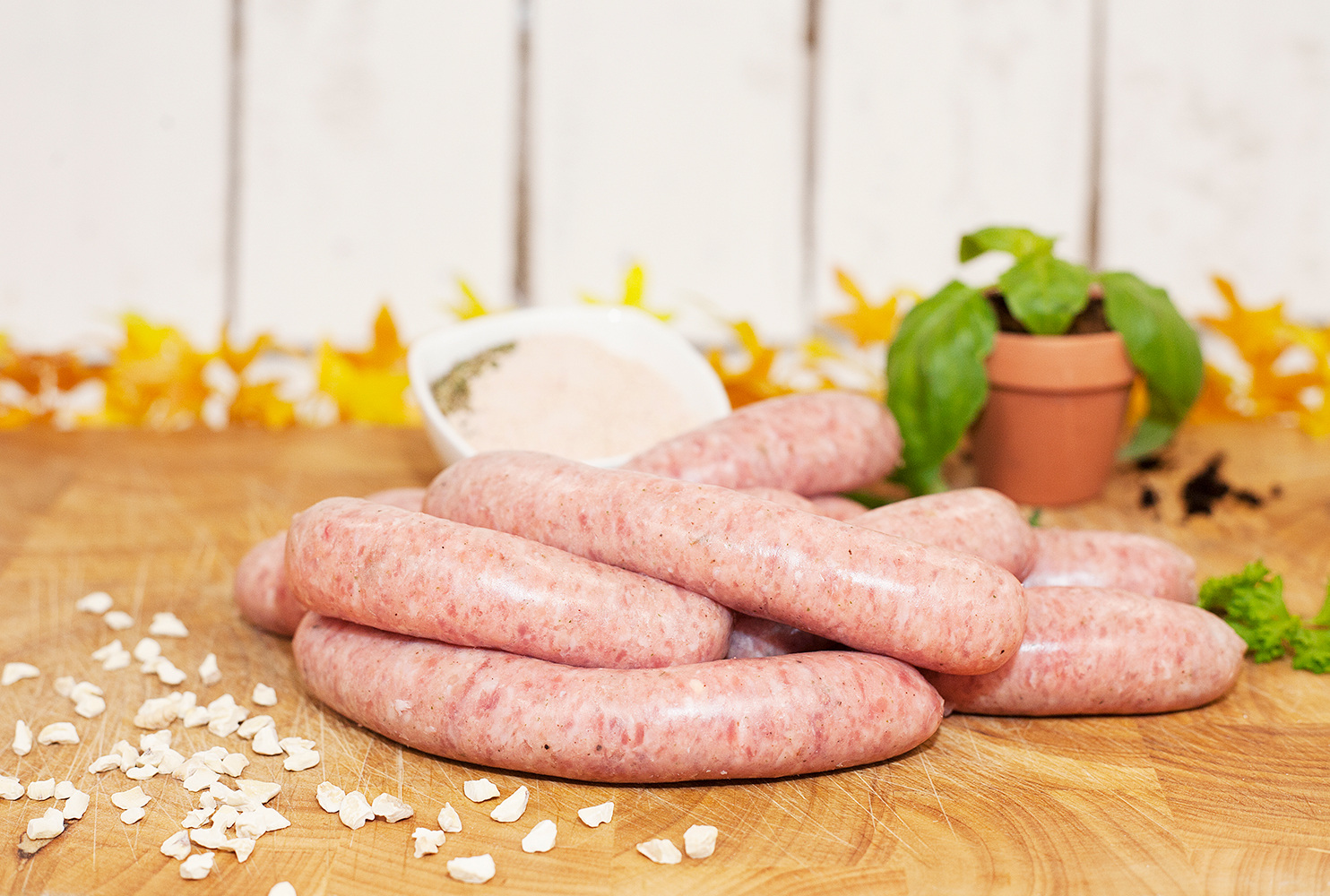 COUNTRY FAYRE PORK APRICOT & CHESTNUT SAUSAGE MIX