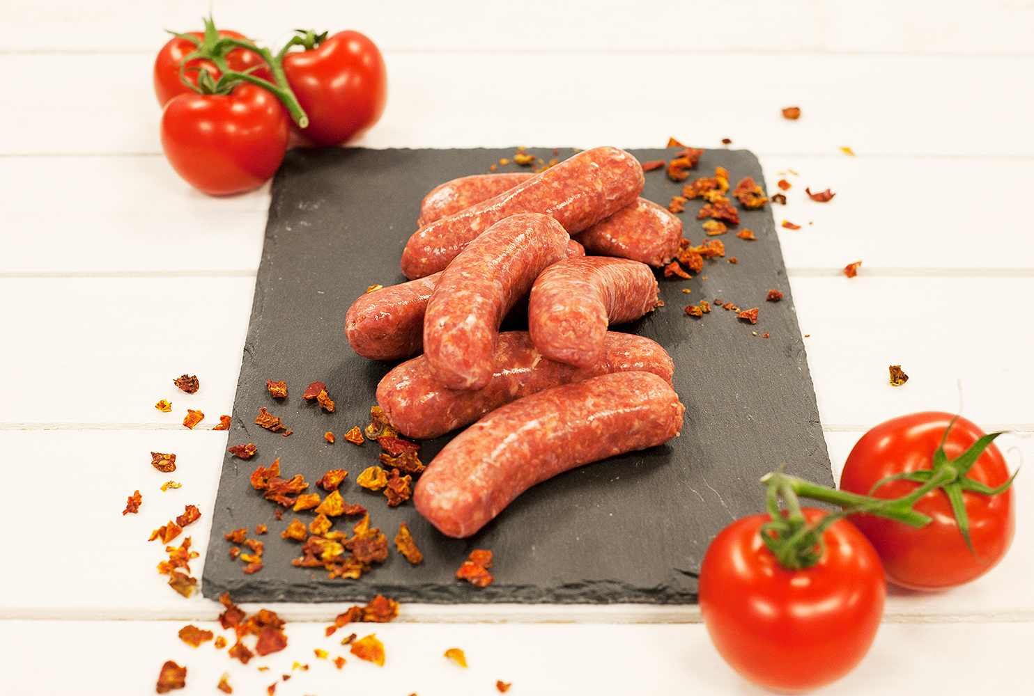 COUNTRY FAYRE TOMATO FLAVOUR & TOMATO PIECES SAUSAGE MIX