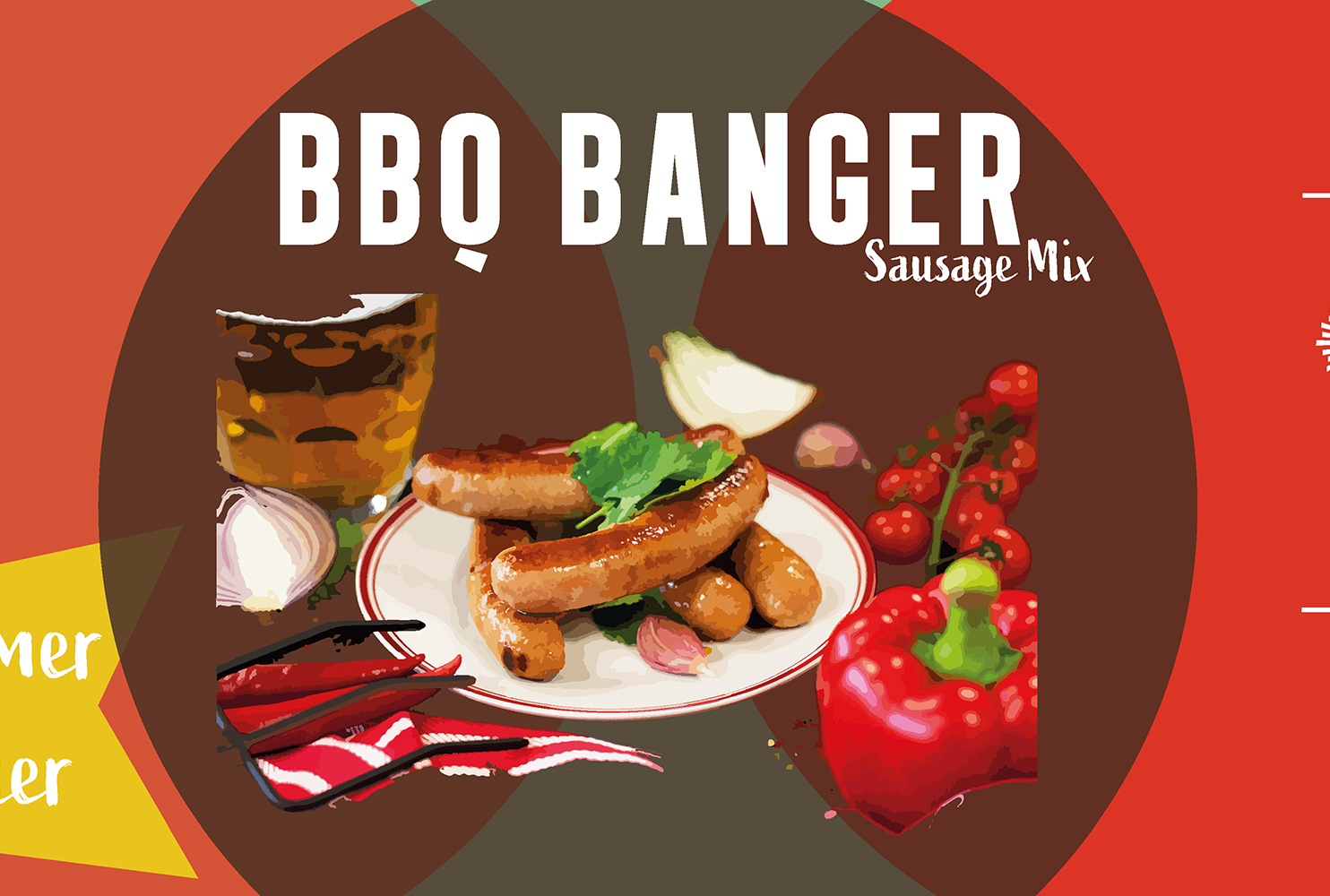 COUNTRY FAYRE BBQ BANGER SAUSAGE MIX