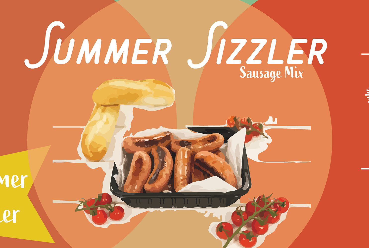 COUNTRY FAYRE SUMMER SIZZLER SAUSAGE MIX