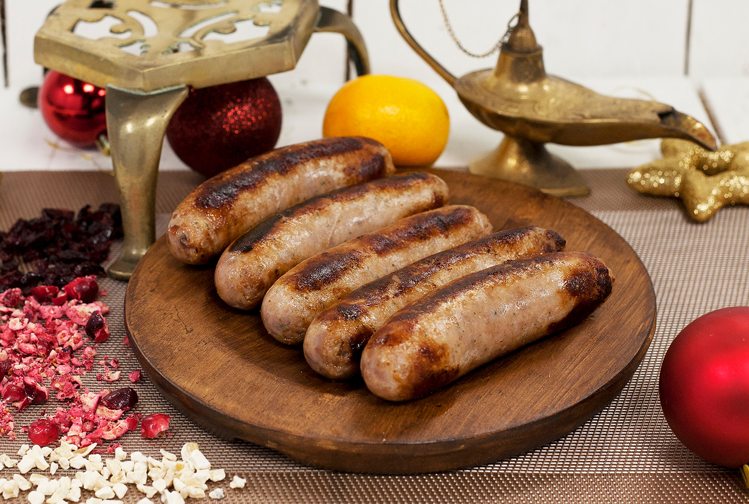 COUNTRY FAYRE CHESTNUT CRANBERRY & ORANGE SAUSAGE MIX