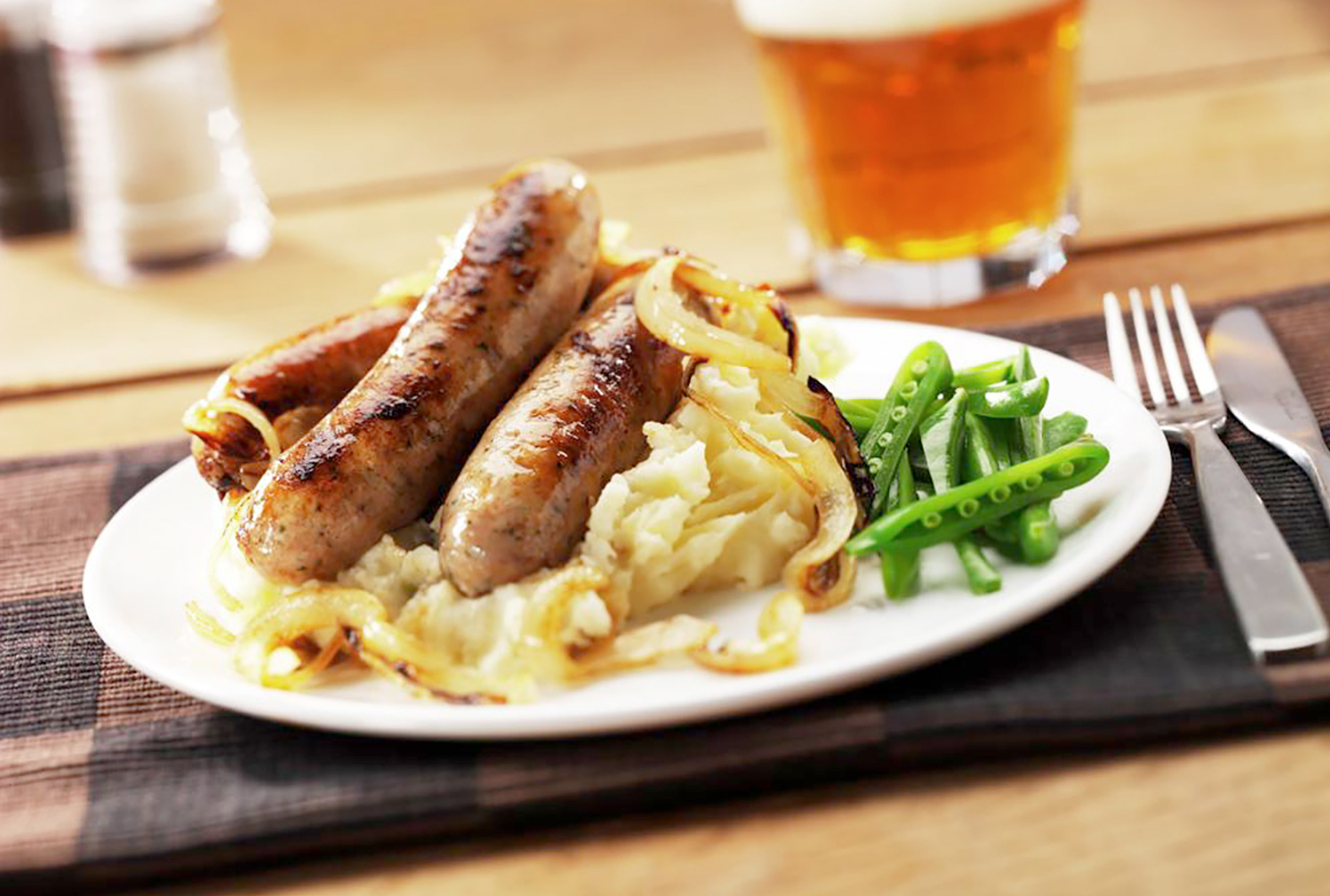 DESIRE PORK & CARAMELISED ONION SAUSAGE MIX