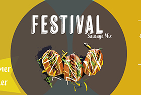 COUNTRY FAYRE FESTIVAL SAUSAGE MIX