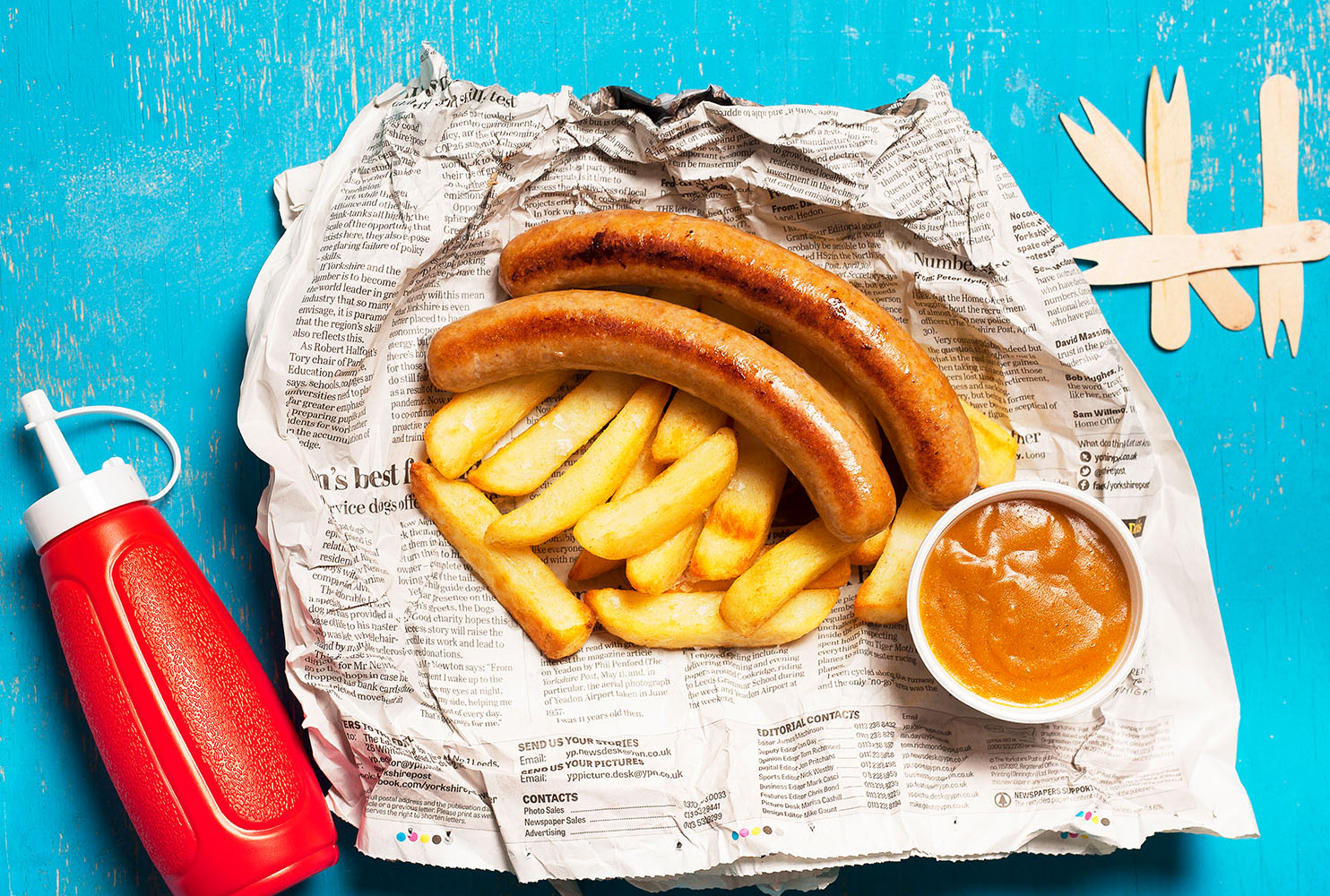 COUNTRY FAYRE CHIP SHOP CURRY SAUSAGE MIX