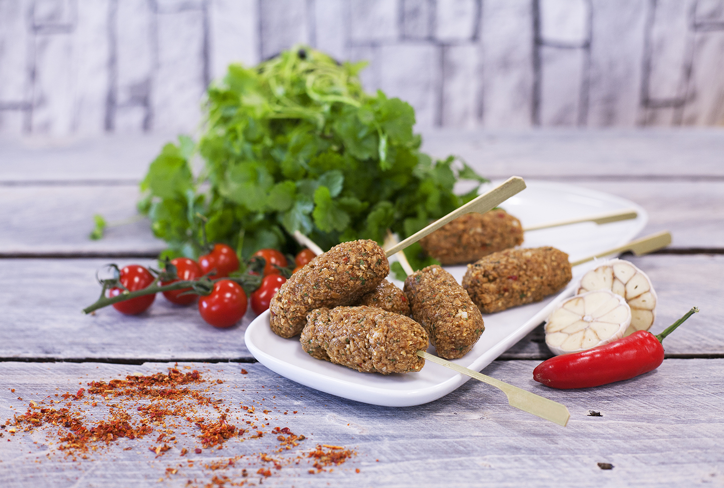 DALESMAN FOR FLOCK'S SAKE VEGAN INDIAN KOFTA KEBAB MIX